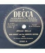 Andrews Sisters  Bing Crosby Jingle Bells Santa Claus Is Comin' To Town ... - $65.25