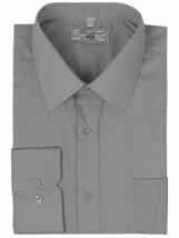 Boltini Italy Men's Grey Long Sleeve Standard Cuff Dress Shirt w/Defect - XL