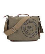 "Fashion Men""s Canvas Cross Body Messenger Shoulder Bag School Travel Sat... - $72.20"
