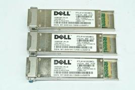 Qty 3 Dell 10GBASE-LR/LW Optical Transceivers 1200-SM-LL-L FTLX1412D3BCL... - $37.49