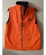 Ll bean orange vest high visibility hunting fall autumn winter boys 18-20 - $16.83