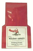 The Paper Cut Holiday Variety 10 Library Pockets