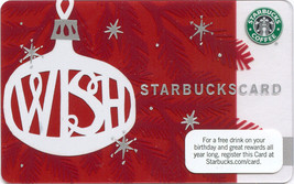 Starbucks 2009 Wish Collectible Gift Card New No Value - $9.99