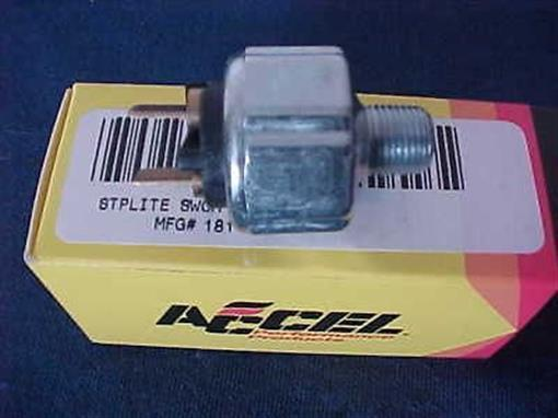 New Accel Hydraulic Stop Brake Light Switch for Harley FX, FL XL 181101 21-0470