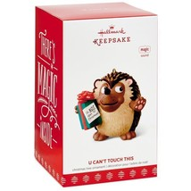 U Can't Touch This Hedgehog 2017 Hallmark Magic Ornament  Music  In Stock - $28.70