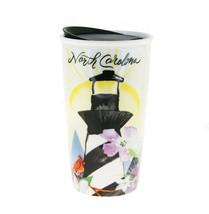Starbucks North Carolina Lighthouse Ceramic Traveler Tumbler Coffee Mug ... - $68.61