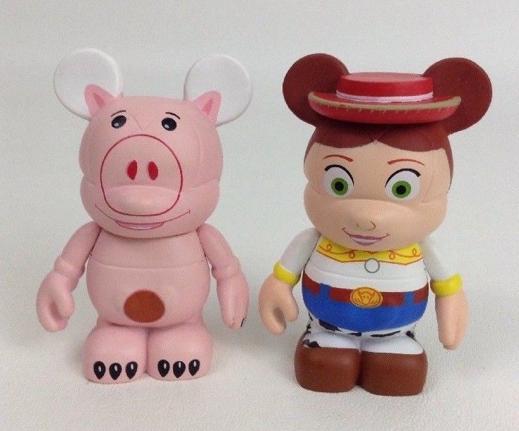 Disney Vinylmation Toy Story Mouse Figures Cake Toppers Jessie Hamm