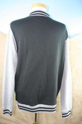 Marvel Youth Black and Gray Long Sleeve Light Weight Jacket Size S 14 image 6