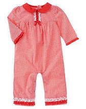 Good Old Days Gymboree NWT Woven Romper 6- 12  mos  - $10.99