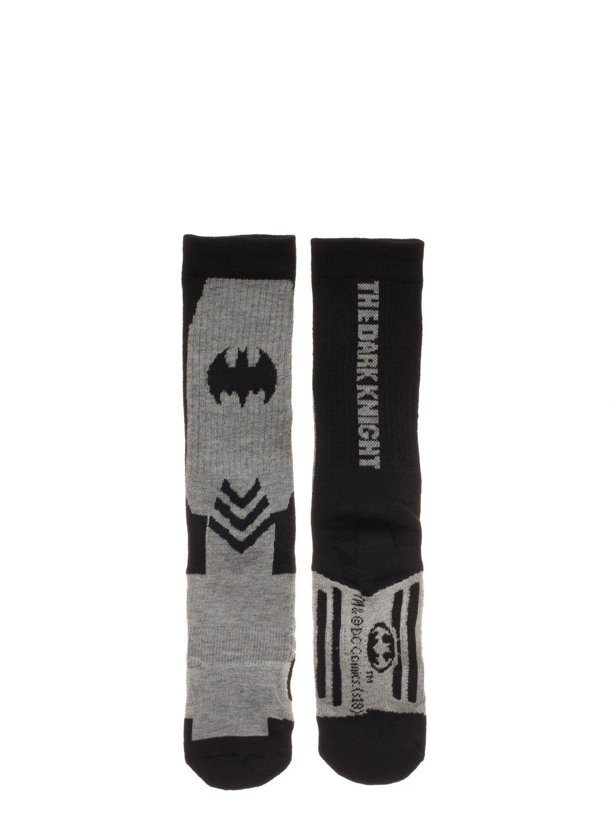 Batman DC Comics 3 Pack Athletic Active Crew Socks Nwt