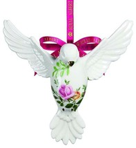 Royal Albert Old Country Roses Dove Of Peace Ornament New In Box - $84.90