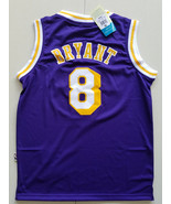 youth Losangeles Lakers #8 kobe bryant jersey basketball jersey  purple.jpg - $26.66