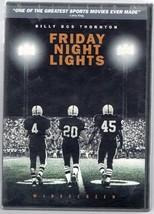 "DVD ""FRIDAY NIGHT LIGHTS"" Billi Bob Thornton;Best Sport Movie Said by La... - $5.86"