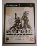 Playstation 2 - METAL GEAR SOLID 2 - SUBSTANCE (Complete with Manual) - $40.00