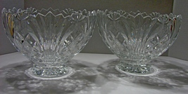 Pair of Captivating Fifth Avenue Crystal Bowls ~Wellington Pattern - $32.90