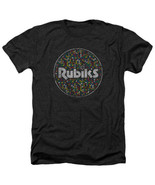 T-Shirts Taille S-2XL Neuf Rubik's Cube Motif Cercle Heather T-Shirt Hommes - $44.28+