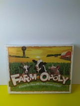 FARM-OPOLY Property Trading Board Game - Brand New & Sealed - $23.88