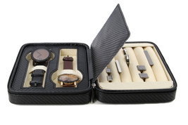 Decorebay High class Cufflink Case & Ring Storage Organizer Men's Jewelr... - €27,63 EUR