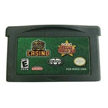 Gameboy Golden Nugget Casino & Texas Hold'em Poker Video Game - $7.80
