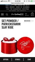 BNIB Holiday Mac Patrick Starrr Loose Set Powder Slay Ride  w/ receipt In Hand - $81.18