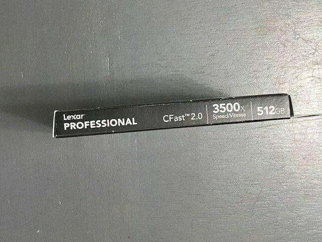 Lexar 512GB Professional 3500x CFast 2.0 Memory Card #LC512CRBNA3500