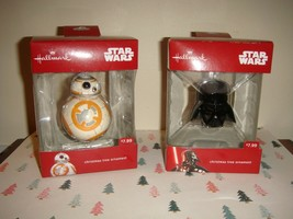 Hallmark Darth Vader & BB8 Star Wars Ornaments - $16.99