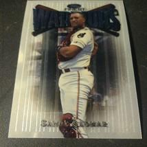 1997 Topps Finest Warriors #113: Sandy Alomar: Cleveland Indians - $1.88