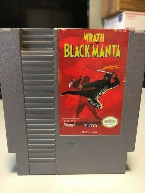 Wrath of the Black Manta, Nintendo Entertainment System (NES) 1990, Tested