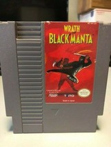 Wrath of the Black Manta, Nintendo Entertainment System (NES) 1990, Tested - $4.52