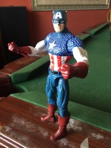 "Original Marvel Select Comics CAPTAIN AMERICA 7"" JOINTED ACTION FIGURE T... - $8.60"