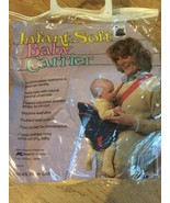 Infant Soft Front BABY CARRIER Newborn To 6 Months Natural Closeness Lig... - $12.60