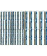 100 x Parker Quink Flow BallPoint Ball point Pen Refills BallPen Blue Fi... - $129.99