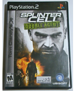Playstation 2 - SPLINTER CELL - DOUBLE AGENT (Complete with Manual) - $8.00