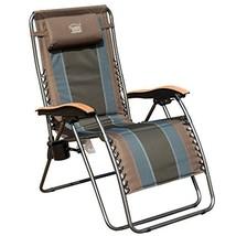 Timber Ridge Zero Gravity Patio Lounge Chair Oversize XL Padded Adjustab... - $165.69