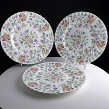 Minton Haddon Hall Dinner Plates (3) Near Mint - $88.83