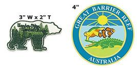 Wander Often Wander Always and Great Barrier Reef National Park Series 2-Pack Em - $7.89