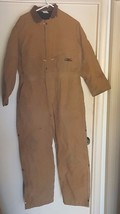 CONDOR 1H186 Coverall, Chest 55In., Desert Sand Brown - $59.39