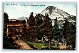 Vintage Early 1900's Mt. Hood Cloud Cap Inn Columbia River Oregon UNPOSTED - $15.81