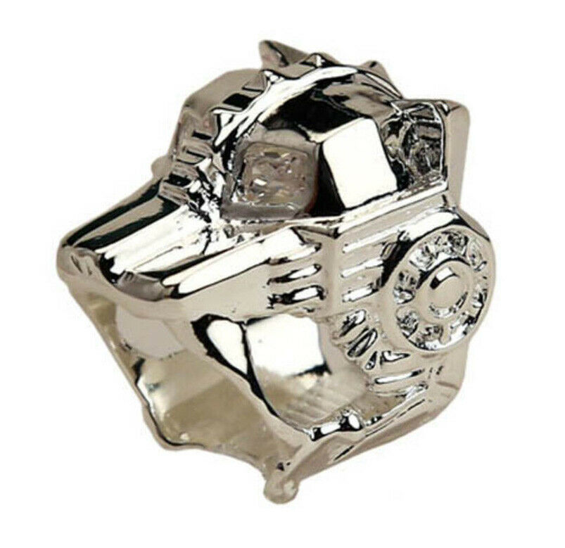 Han Cholo Silver Plated Lioness Ring Size 7 NEW
