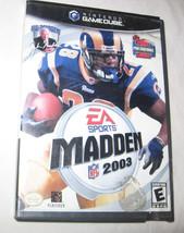 Enloquecer NFL 2003 Nintendo Gamecube, 2002 Deportes Fútbol EEUU - $5.69