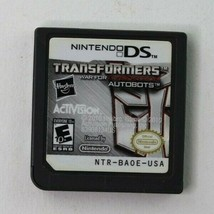 Transformers: War for Cybertron - Autobots (Nintendo DS, 2010) Cart Only... - $8.95