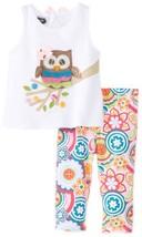 Mud Pie Baby-Girls Newborn Owl Tunic and Legging Set, Multi, 9-12 Months - $35.64