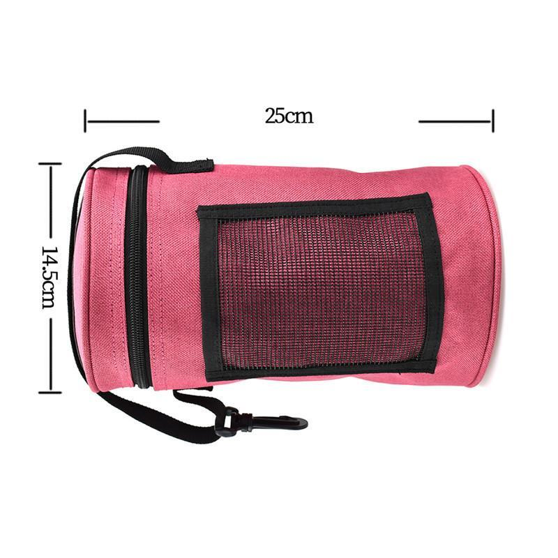 Sold Separately, 4 Coordinating Lightweight and Portable Yarn Organizer Totes