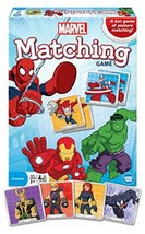 Wonder Forge Marvel Matching Game for Boys and Girls Age 3 to 5 - A Fun and Fast - $11.03