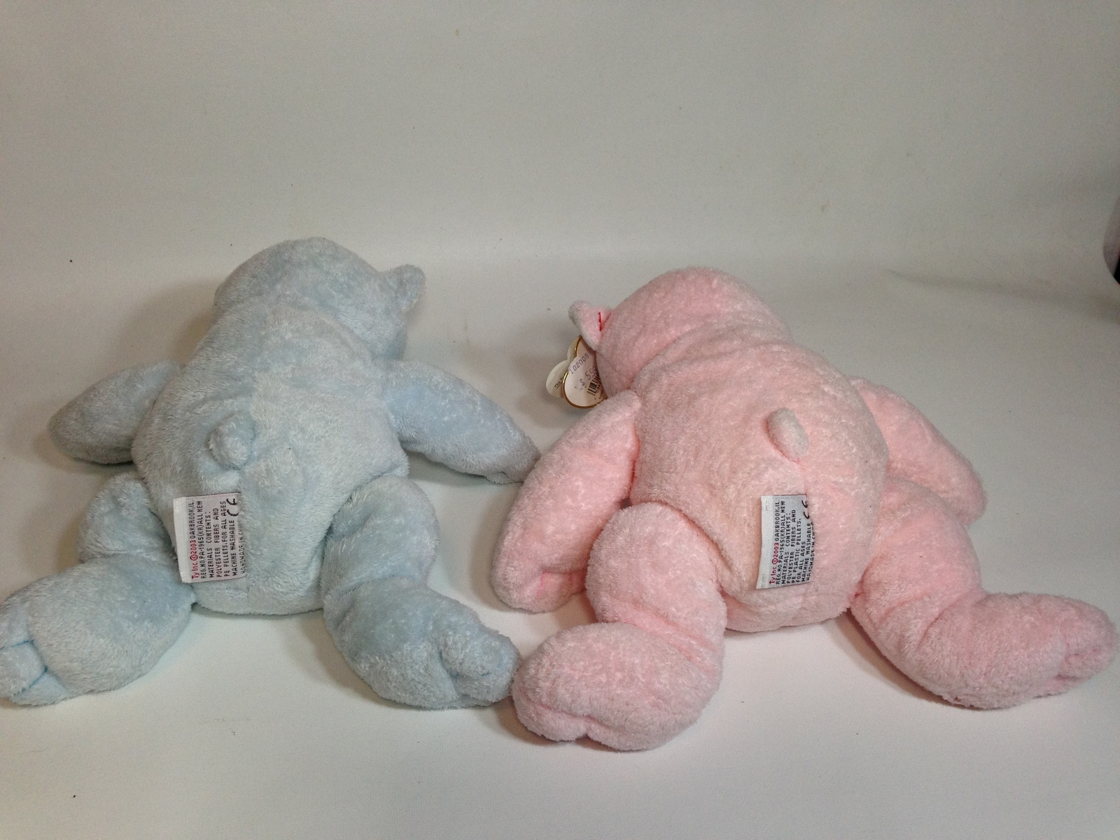 d15ae0c3008 Ty Pluffies Pink Pudder   Blue Tinker Bear and 22 similar items