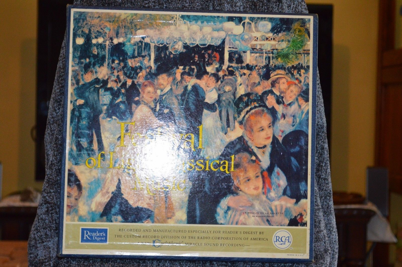 Festival of Light Classical Music, vinyl record set by RCA
