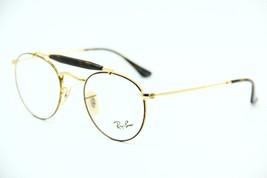 New RAY-BAN Rb 3747V 2945 Gold Havana Eyeglasses Authentic Rx RB3747V 47-21 - $79.97