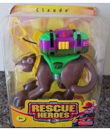 Rescue Heroes Claude Mountain Lion with Backpack & Rescue Hook package d... - $24.74