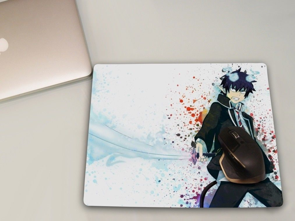 Ao No Blue Exorcist Anime Mousepad Large Gaming Mouse Mat