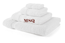 White-750-gsm-Hotel-Quality-Egyt-Cotton-Towels-Super-Soft-Thick-Bale-Set... - $3.84+